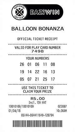 balloon ticket