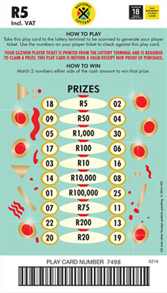 Ithuba National Lottery | How to play Powerball