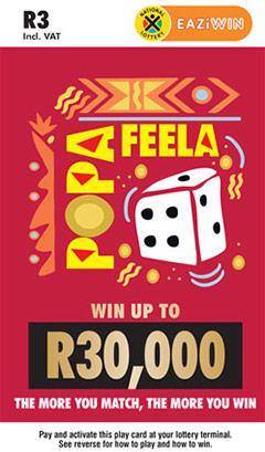 Ithuba National Lottery | How to play Raffle