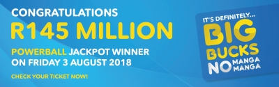 R145 Million Winner Claims His Prize!