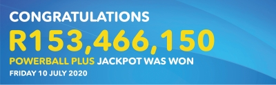 SEARCH IS ON FOR THE BIGGEST POWERBALL PLUS JACKPOT WINNER EVER!